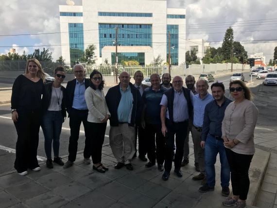 kick off meeting in Cyprus